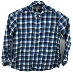 Duluth Trading Checkered Flannel Shirt